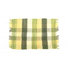Placemats Chindi - Olive Green