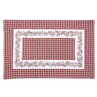 Placemats Fused - Berryvine Burgundy