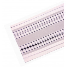 Table Runner Ribbed - Coco Stripe