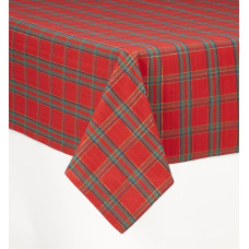 Table Cloth - Belvedere Red Lurexed