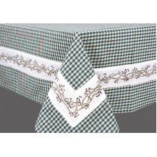 Table Cloth - Berryvine Green