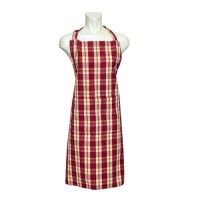 Apron - Stripe Burgundy