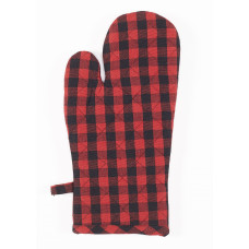 Oven Mitten - Buffalo Red Plaid (No Emb.)