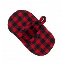 Microwave Mitten - Buffalo Red Plaid (No Emb.)