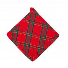 Pot Holder - Belvedere Red Lurex
