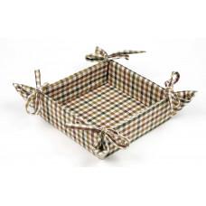 Bread basket - Cambridge Mini Check