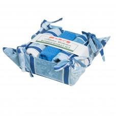 Bread Basket Set - Snowflake
