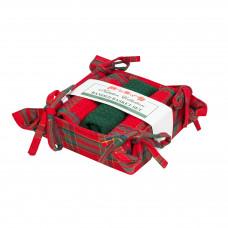 Bread Basket Set - Belvedere Red Lurex