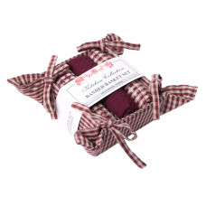 Bread Basket Set - Berryvine Burgundy