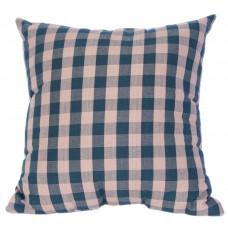 Toss Cushion - Green Check