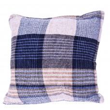Chenille Cushion Cover - Sand Blue