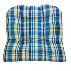 Chair Pad - Blue Stone