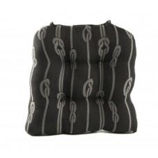 Chair Pad - Black Rope