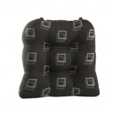 Chair Pad - Black Square