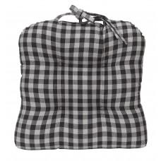 Chair Pad - Buffalo Grey Plaid
