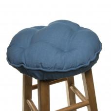 Bar Stool Cover - Blue