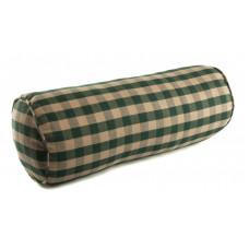 Neckroll / Bolster - Green Check