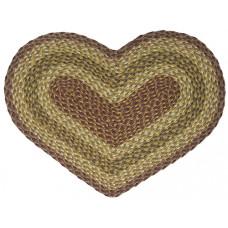 Braided Heart Rug - JB104