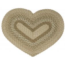 Braided Heart Rug - JB106