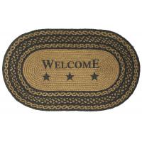 Braided Welcome Rug - JB131 Oval