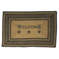 Braided Welcome Rug - JB131 Rect.