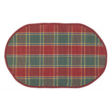 Floor Mat - Festive Jewel (Oval)