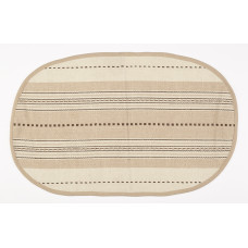 Floor Mat - Coco Stripe (Oval)