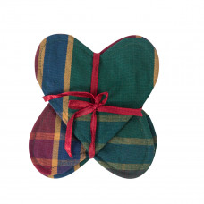 Coaster Set of 4 - Festive Jewel