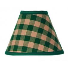 Lamp Shade - Green Check