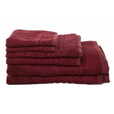 Bath Towels - Bamboo - Burgundy