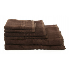 Bath Towels - Bamboo - Chocolate Brfwon