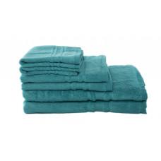 Bath Towels - Bamboo - Turquoise/Aqua Blue