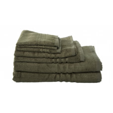 Bath Towels - Bamboo - Olive Green